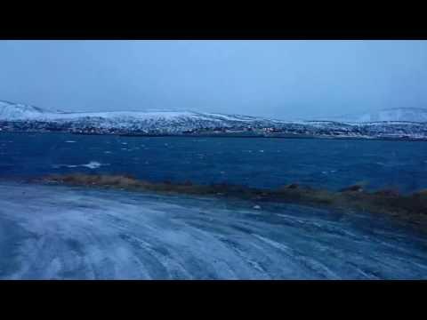 Strom in Barents sea.