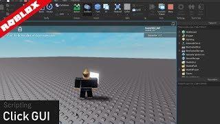 How to script a CLICK GUI (Studio Tutorial) | ROBLOX