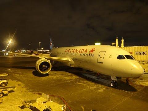 Ride on Air Canada Boeing 787-8 C-GHPX (AC401 YUL-YYZ - Dec. 20, 2016)
