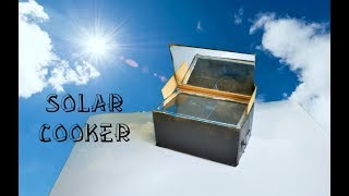 How to Make Solar Cooker At Home