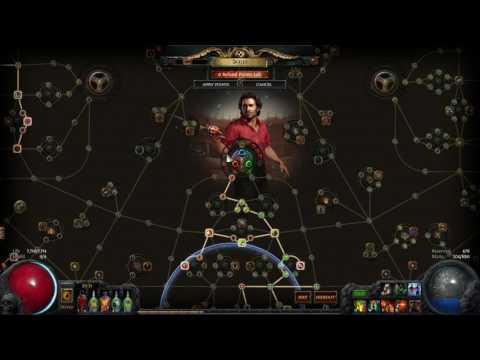 Poe Lightning Arrow Blast Rain Build