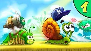 Несносный УЛИТКА БОБ 3. Серия 1. Мультик Snail Bob 3 на канале Игрули TV