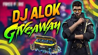FREE FIRE LIVE   DJ ALOK \u0026 💎 Diamonds GIVEAWAY   TOTAL GAMING LIVE   Two Side Gamers   Gyan Gaming