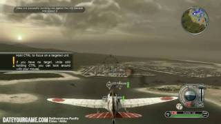 Battlestations Pacific Walkthrough 1 Attack on Pearl Harbor Gameplay HD