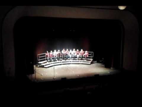 eureka springs high school choir at auditorium