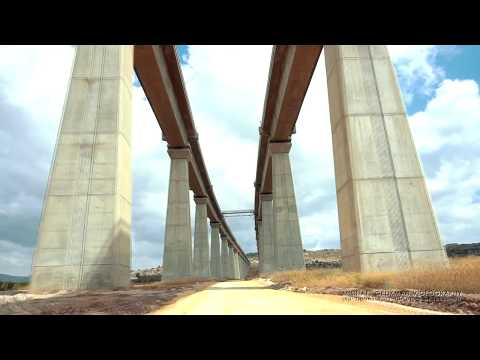 Jerusalem Road Rail Bridge Israel 2018