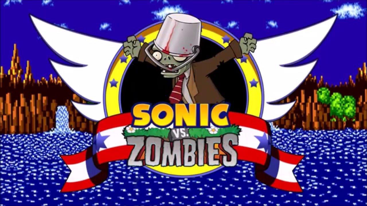 Sonic Vs Zombies Youtube