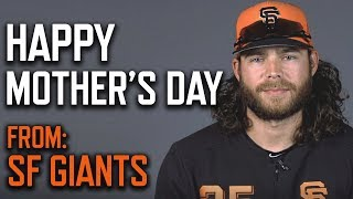 Happy Mother's Day from the SFGiants