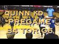 Quinn Cook dons KD/Durant No. 35 T-shirt pregame Game 6 NBA Finals