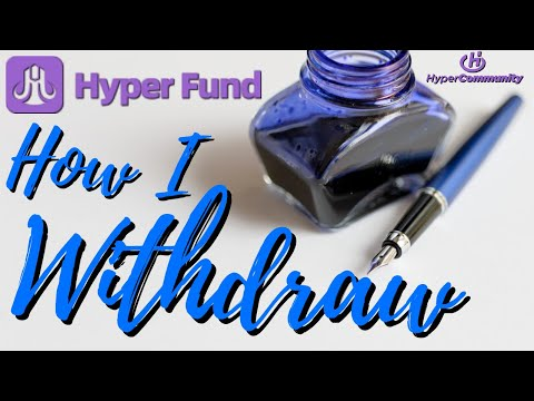HyperFund How To Withdraw For Increased Profits. PRO Tips! Hyper Fundamentals
