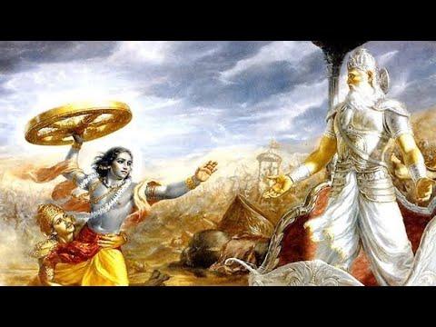 Why Did Lord Krishna Ji Attack Bhishma Pitamah In Mahabharat Youtube