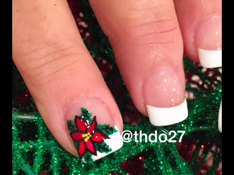 Diy mistletoe nails design youtube diy mistletoe nails design prinsesfo Image collections