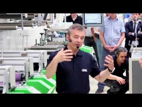 Full live demonstration of Revo technology set on Bobst printing machine