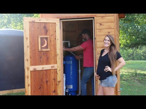 How We're Getting Drinkable Rainwater OFF GRID!