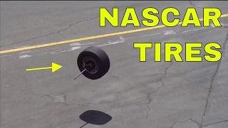 NASCAR - Flying Tires