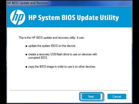 HP-COMPAQ bios bin file tool