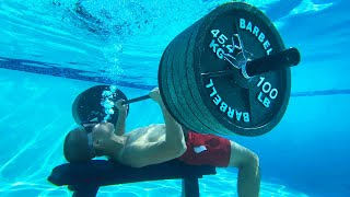 Can You Bench Press 1,000 Pounds Underwater?
