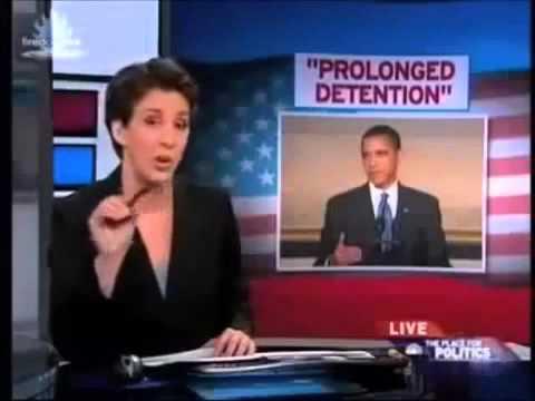 Obama Justifies NDAA American Citizen Detainment   Prolonged Detention   NWO 2013