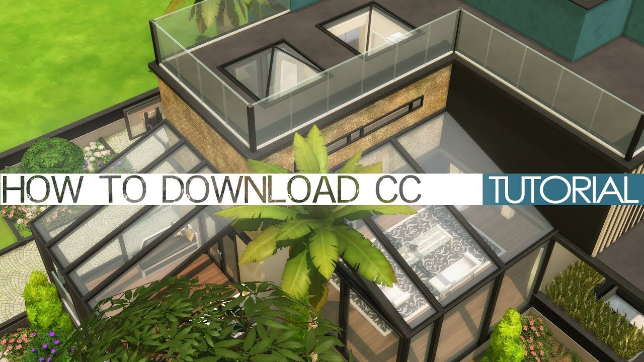 sims 4 how to show download custom content