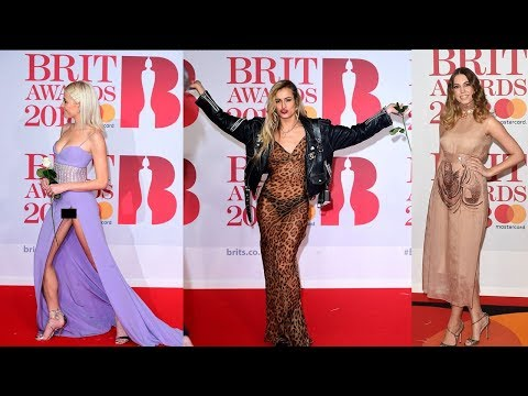 The Brit Awards 2018 Celebs at Red Carpet