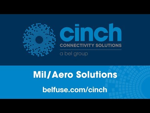 Cinch Connectivity - Military & Aerospace Solutions