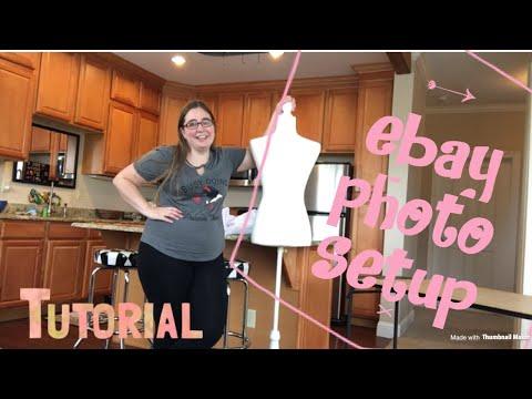 "Ebay Tips: How I Set Up My Cheap DIY Photo ""Studio"""