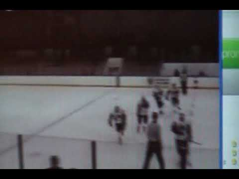 Ice Hawks vs Steelers - nice patented backhand goal