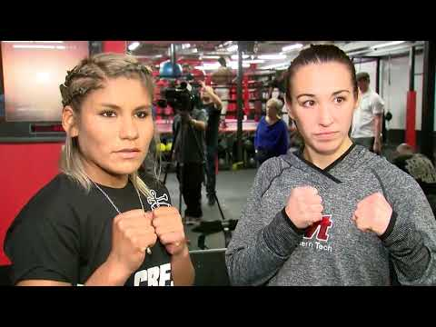 World Champion Jennifer Han Workout, Interview and Face Off with Opponent!!!
