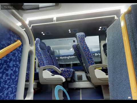 Megabus Altano 3D Video