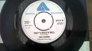 eric carmen thats rock n roll 1975