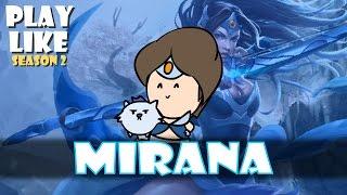 PLAY LIKE MIRANA (Dota 2 Animation Parody 2016)