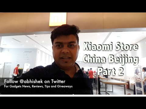 Hindi | Xiaomi Mi Home China Beijing Store Part 2 | Gadgets To Use