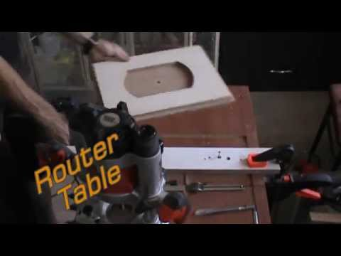 Multifunction Table Make-PART 1-Table saw, Router table, Plane table, Jigsaw table.