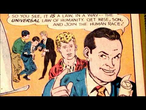 COMIC MAN PRODUCTIONS: BOB HOPE THE GOLDEN RULE PUBLIC SERVICE FLASH COMIC BOOK AD 1967