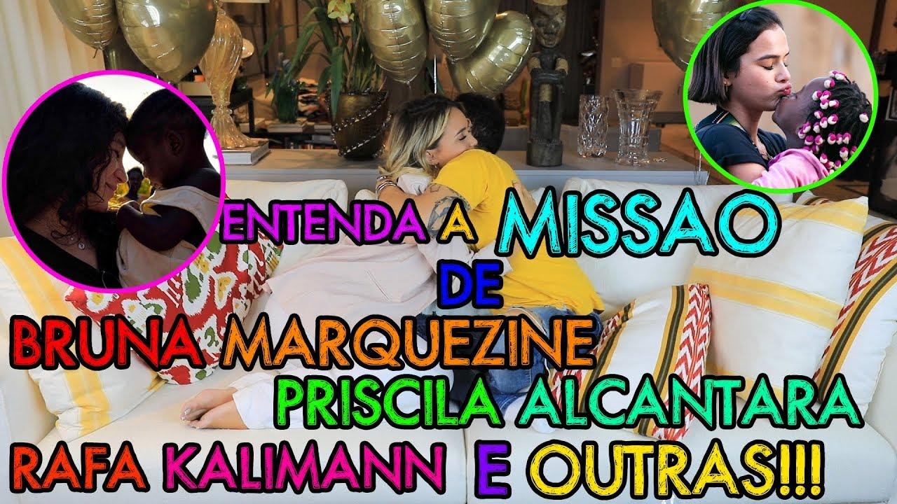 ENTENDA A MISSÃO DE BRUNA MARQUEZINE, PRISCILA ALCANTARA, RAFA KALIMANN E OUTRAS!!!
