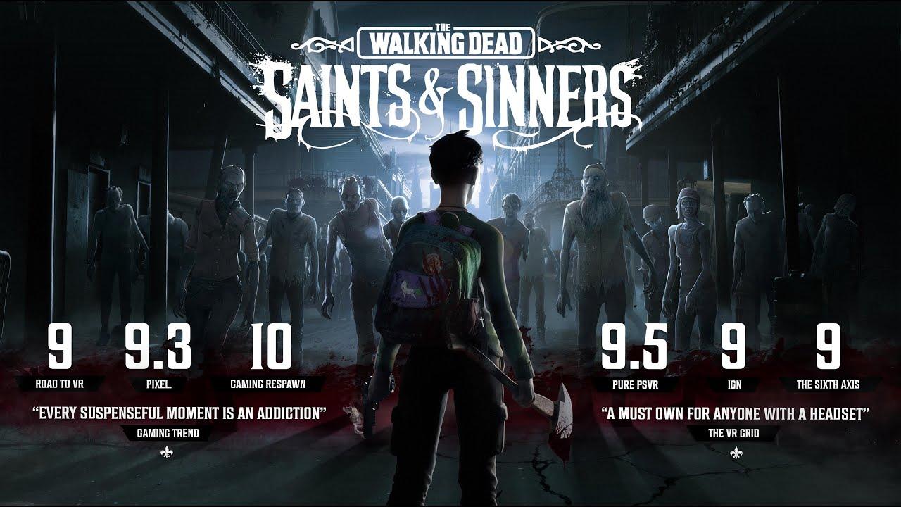 The Walking Dead: Saints & Sinners Is Out Now on PSVR