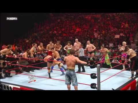 مباراة رويال رامبل 30 مصارع (المعركة الملكية) 2018