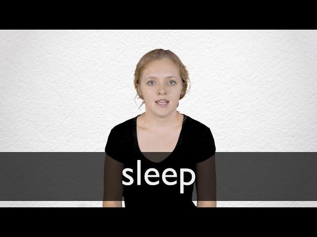 """Hindi Translation of """"sleep""""   Collins English-Hindi Dictionary"""