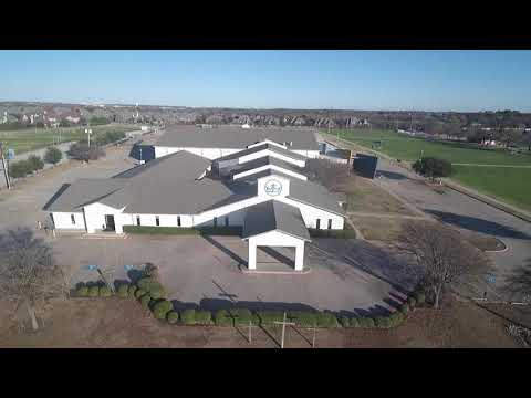 Aerial Viewing of Crown of Life Lutheran Church & School