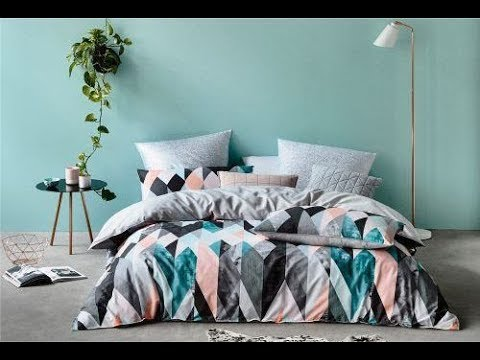 Geometric And Graphic Bedding Ideas