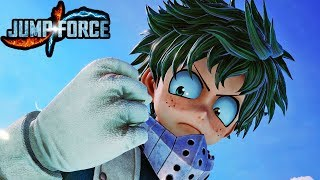 JUMP FORCE - NEW DEKU GAMEPLAY SCREENSHOTS! My Hero Academia Screenshots HD 1080p