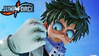 JUMP FORCE - NEW DEKU GAMEPLAY SCREENSHOTS! My Hero Academia Screenshots HD 1080p
