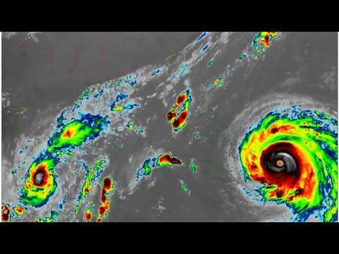 2017-09-06-12 Hurricane Irma - LW Infrared - Gulf of Mexico crop