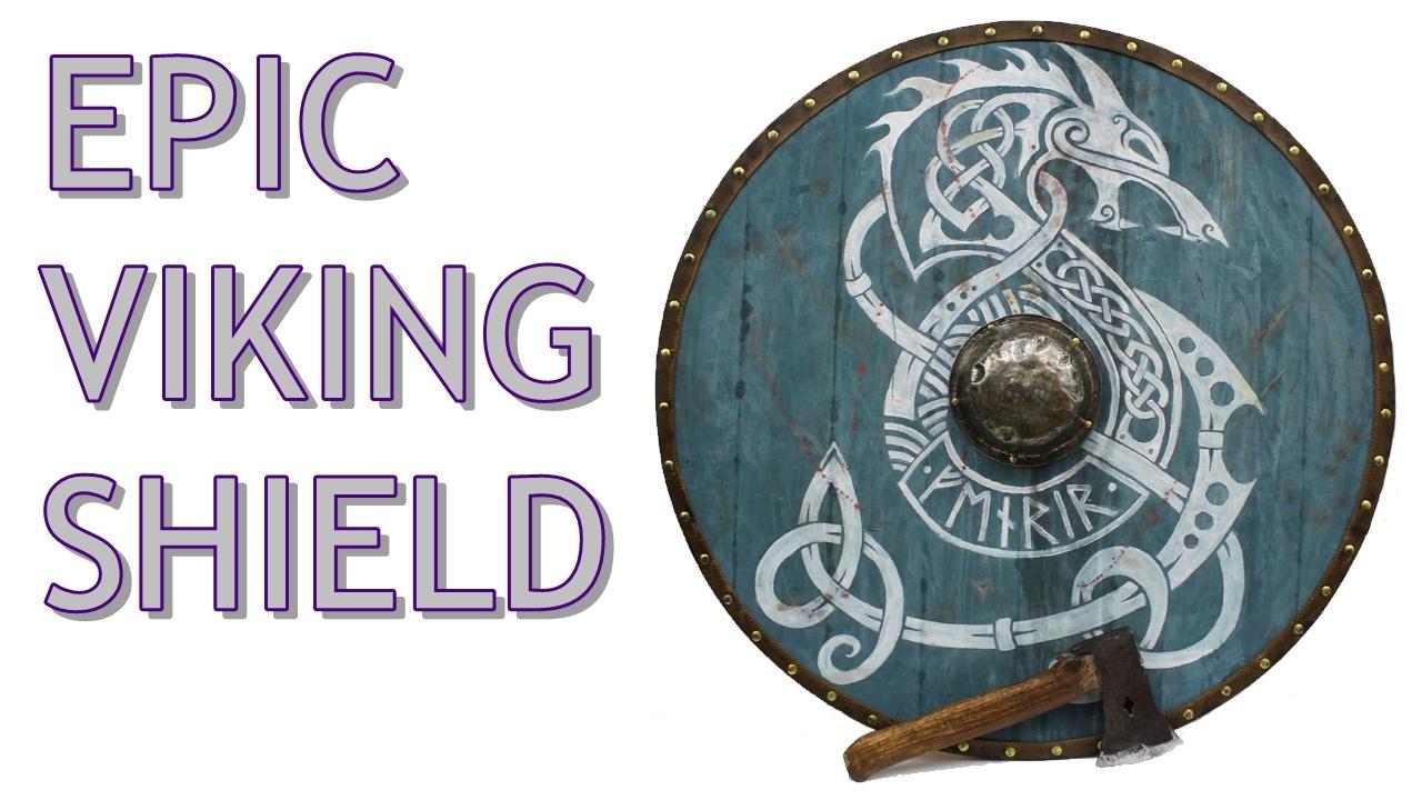 Viking Shield Making Of Youtube
