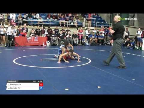 Cadet WM 94 Cons 8-1 - Jennifer Rodriguez (TX) vs. Jessica Corredor (FL)