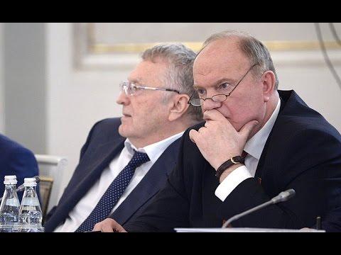 Смотреть Жириновский вступился за Бесогона Михалкова перед Путиным на Госсовете онлайн