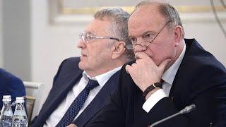 Жириновский вступился за Бесогона Михалкова перед Путиным на Госсовете