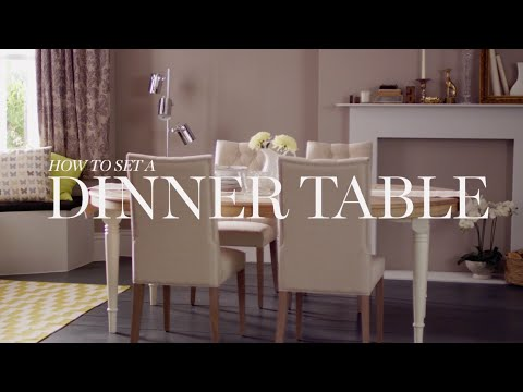 Mu0026S Home: How To Set A Dinner Table