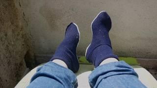 voici une méthode pour coudre des chaussettes avec des chutes de jersey, un vieux pull, etc Vous pouvez aussi le faire avec des pièces de tricots (fait à ...