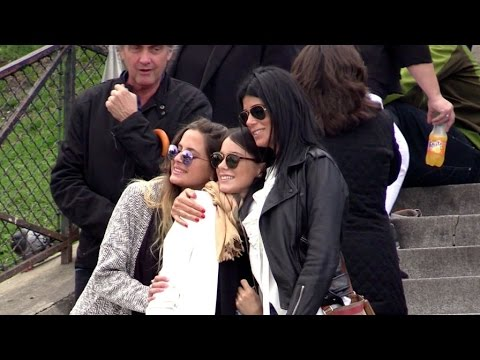 EXCLUSIVE: Tini Stoessel  aka Violetta, friends and family go visit Montmartre in Paris